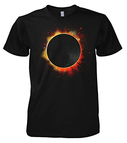 Geek Solar Eclipse - Moon 701897 Herren T-Shirt