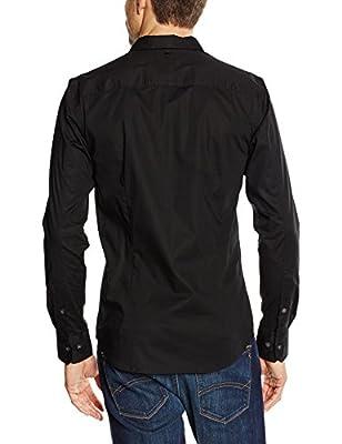 Hilfiger Denim Men's Original Stretch Slim Fit Long Sleeve Casual Shirt