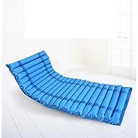 Colchón hinchable antidecubitus con cojín hinchable para personas mayores/personas con discapacidad, color azul