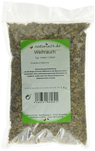 Preisvergleich Produktbild Naturix24 Weihrauch, Olibanum indisch 1. Wahl – Beutel, 1er Pack (1 x 1 kg)