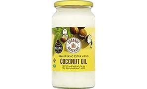 1L x2 Aceite de coco orgánico Coconut Merchant | Aceite Virgen Extra, Crudo, prensado en frío, sin refinar |Producido de forma ética, Vegano, Dieta Keto y 100% Natural |Para el pelo, la piel y Cocina
