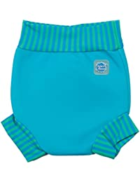 Splash About Happy Nappy, Pañal de natación para Bebé, Multicolor (Turquoise Blue Lagoon), XX Large (24+ Meses)