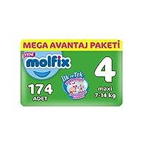 Molfix 3D Bebek Bezi Maxi 4 Beden