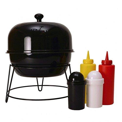 41nyE9LWfpL - Kugelgrill Gewürzhalter Grillset - BBQ Grill Gewürzhalter Grill Set Grillzubehör