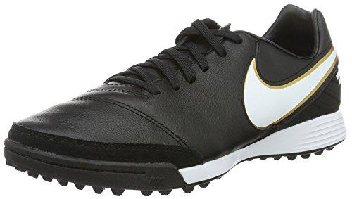 Nike Herren Tiempox Mystic V TF Fußballschuhe, Schwarz (Black/White), 40.5 EU - Schuhe Für Nike Männer Turf