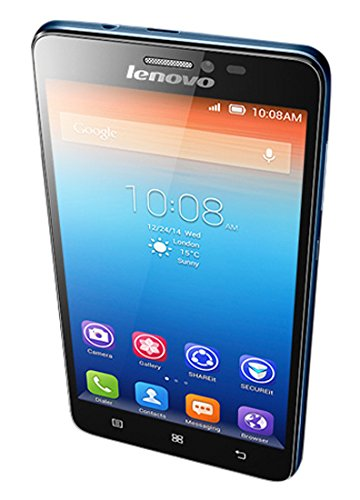 "Lenovo Ideaphone S850 Dual SIM 16GB Blue - Smartphones (12.7 cm (5""), 1 GB, 16 GB, 13 MP, Android, Blue)"
