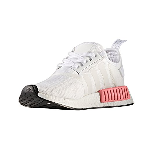 Adidas Femmes Nmd_r1 W By9952, By9647 Boost Technologie Unisexe Chaussures De Sport Blanco / Rosa