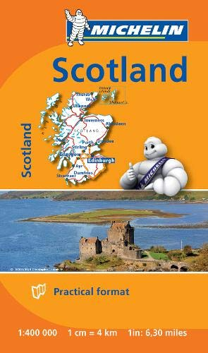 Scotland - Michelin Mini Map 8501