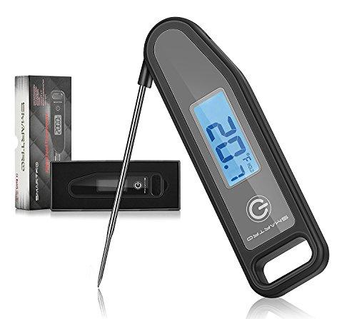 Digitales Fleisch-Thermometer, SMARTRO BBQ Thermometer Bratenthermometer für Speisen Fleish Grillen Lebensmittel Kochen Instant Read