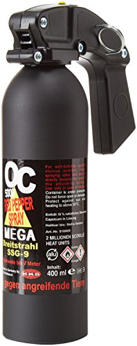 shoot-club24 Pfefferspray OC 5000 Breitstrahl 400 ml, SSG-9 (2178)