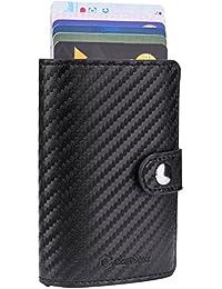 Porta Carta di Credito - CashNox Porta Carte Credito RFID, Portafoglio