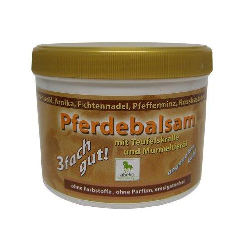 abeko Pferde Balsam mit Teufelskralle & Murmeltieröl 500 ml -