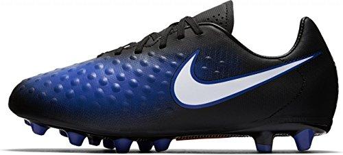 Nike Jungen 844414-015 Fußballschuhe Blau (Black/Paramount Blue/Blue Tint/White)