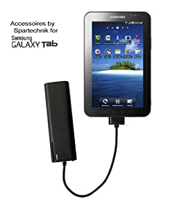 Chargeur de batterie Galaxy Tab Tablet PC. Alimentation externe pour Samsung Galaxy Tab Tablet PC P1000 Tab 7.0 Plus, 8.9, 10.1. Tab 10.1N Galaxy Note, noir