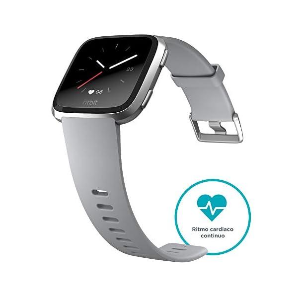 Fitbit Versa Smartwatch Deportivo, Melocotón 3