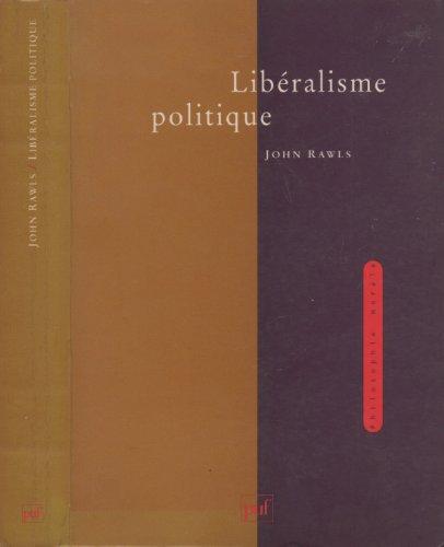Le libéralisme politique
