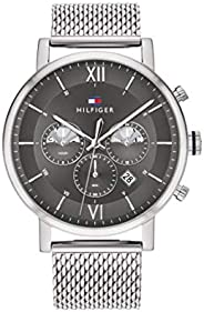 Tommy Hilfiger Men'S Grey Dial Stainless Steel Watch - 171
