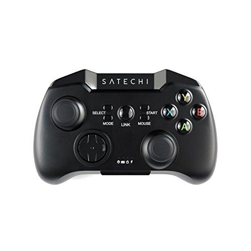Satechi Manette de jeu sans fil Bluetooth - Contrôleur de jeu universel pour Samsung Galaxy Note HTC LG Android Tablette PC Samsung Gear VR