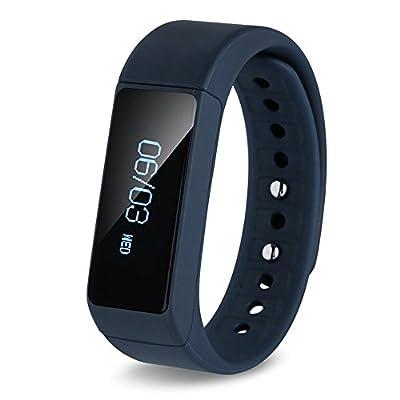 Smart Bracelet, HuiHeng I5 Plus Wireless Pedometer Wristband IP65 Waterproof Sport Wristband Smart Bracelet Watch Pedometer Sleep Health Fitness Tracker Activity Wristband for Android and iOS by HuiHeng