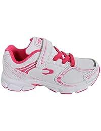 Zapatillas deporte de Niño y Niña y Mujer JOHN SMITH ROXI L 14I BLANCO-ROSA FUCSIA