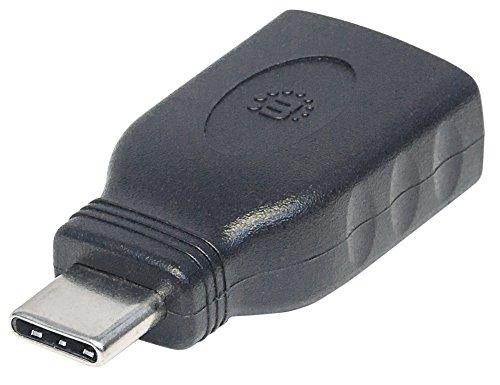 Manhattan Usb-tastatur (Manhattan 354646 USB 3.1 Typ A Buchse auf Typ C-Stecker Adapter (G1) schwarz)