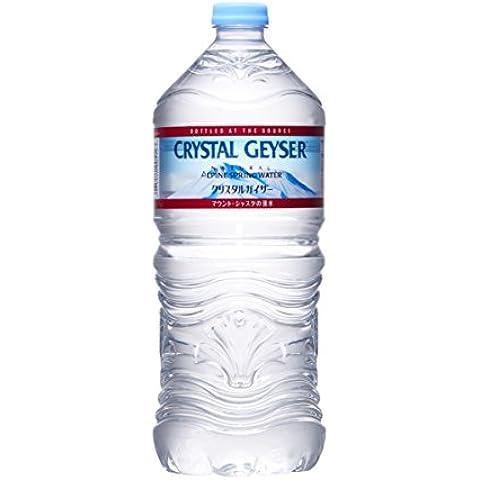 Otsuka Foods Geyser (Crystal Geyser) 1000mlX12 questa acqua di sorgente alpina [merci importate regolari]