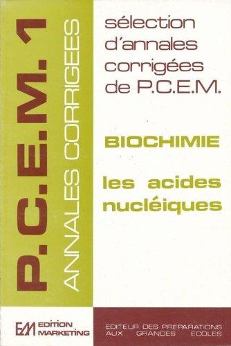 Biochimie acides nucléiques