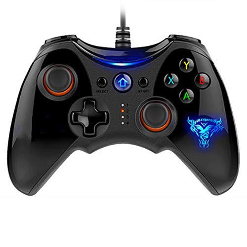JIN Computer Game Controller PC360 Wired USB High Precision Joystick Unterstützung Windows XP / 7/8 / 10 / Smart TV/Netzwerk Set-Top Box / PS3 Host High-cap-akku