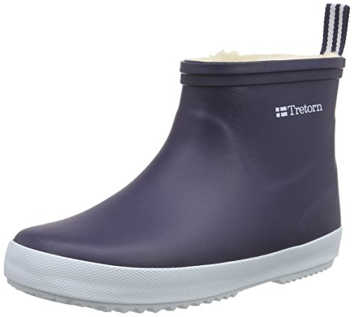 TretornWings Winter Low - Stivaletti in gomma, imbottitura pesante  Unisex – Adulto Blu (Blau (Blue 080))