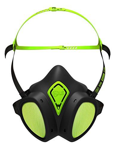 Atemschutz Halbmaske mit Filter A2P2 wartungsfrei Lackiermaske Atemschutzmaske