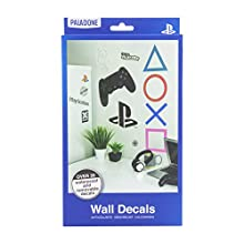Paladone PP6581PS Playstation Vinyl Wall Decals | Waterproof and Removable | 22 Stickers for Gamers, Multi Coloured