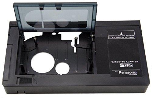 motorisiert Adapterkassette Kassettenadapter für JVC c-p7u cp6bku c-p6u, Panasonic pv-p1, RCA vca115+ 1vcc113Mikrofaser clothtm