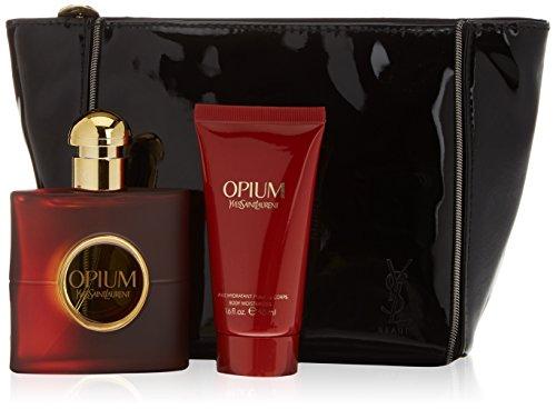 Yves Saint Laurent Opium Acqua di colonia + Crema idratante corporale + portatrucchi - 1 Pack