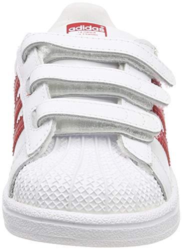 Dettagli su (TG. 26 EU) adidas Superstar CF I, Scarpe da Fitness Unisex Bambini, Bianco (Bla