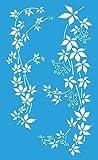 Flessibile riutilizzabile stencil di plastica per la decorazione, la pittura, il disegno e la progettazione grafica. Spessore 0.18mm (180 micron). Realizzata in colore blu trasparente pellicola di plastica riciclata acetato. E molto sottile e flessib...