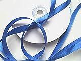 Cinta de raso azul 25 m x 10 mm - Azul - Azul Cinta de banda Schleifenband