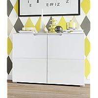 Movian Lek Sideboard Cabinet, 100 x 80 x 40cm, White