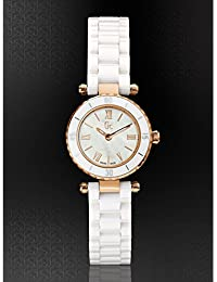 Guess Damen-Armbanduhr Analog Quarz Edelstahl X70011L1S
