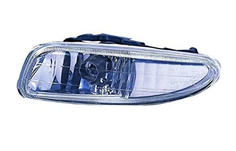 Dodge Neon/Plymouth Neon Replacement Fog Light Assembly (Glass Lens) - 1-Pair by AutoLightsBulbs