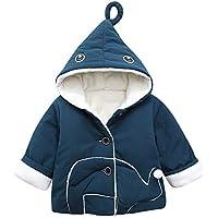 YanHoo Ropa para niños Abrigo de algodón con Capucha y Dibujos Animados de  Invierno de Manga c82bae96880