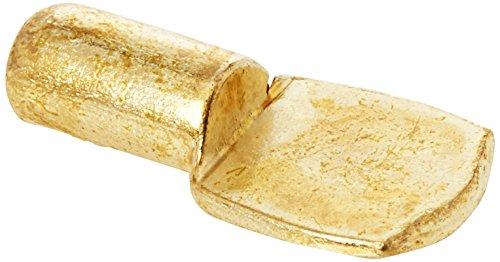 Bulk hardware bh05499supporto mensola a incastro, ottone, metallo, set da 100pezzi
