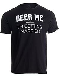 Ann Arbor T-shirt Company «Beer Me, Im Getting Married» (¡Cervecéame, Que me Caso!) - Diseño Divertido para Despedidas de Soltero…