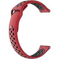 TianranRT - Correa de silicona para reloj inteligente ZTE de cuarzo, Multicolor