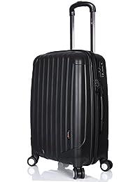 "LuggageX - Maleta  Hombre unisex adulto Mujer negro negro 24"" (60cm)"