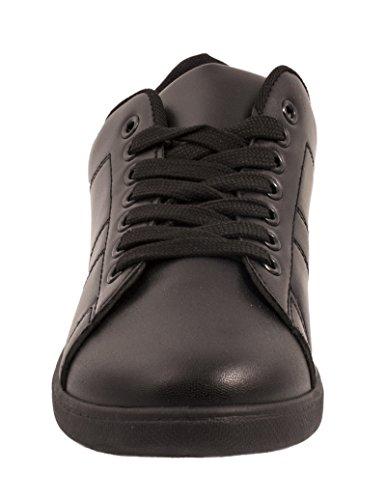 Sneaker Baixo botas Preto Ouro Apartamentos Sneakers Best Senhoras top Homens Retro ROacUq