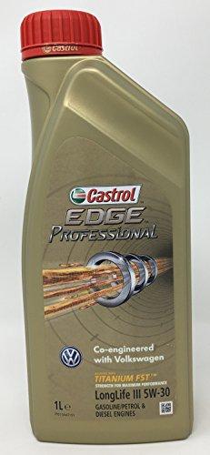 Huile de moteur Castrol Edge Professional Longlife III 5W-30, 1litre (nouvelle formule 2018)