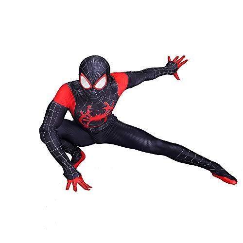 DSFGHE Kinder Cosplay Spider-Man-Kleidung Siamesische Strumpfhose Erwachsene Dressing Performance Korsett Urlaub Party Film Requisiten Heldenanzug,Men-XL