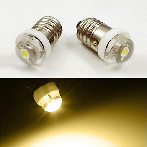 E103V 4,5V 6V 0,5W 0,75W 4300K warmweiss LED Leuchtmittel Taschenlampe Scheinwerfer Arbeiten Kopf Lampe Taschenlampe Arbeiten Tools, 4pcs, 3V Taschenlampe Scheinwerfer Scheinwerfer