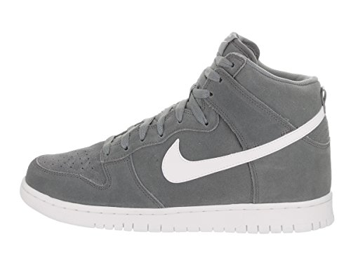 Nike Dunk Hi Sneaker Trainer Grey/White