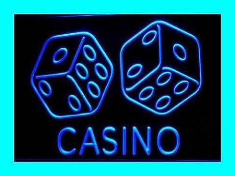 ADV PRO i347-b Casino Dice Lucky Game Bar Pub Neon Light Sign Barlicht Neonlicht Lichtwerbung